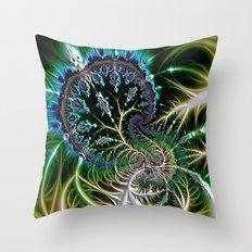 Leaf 0 Throw Pillow