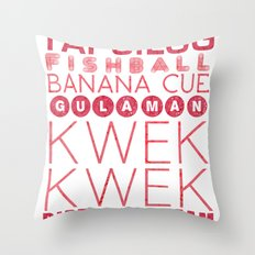 Food Manila Throw Pillow