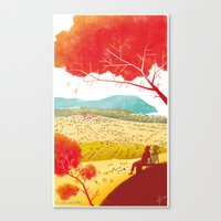Illustre Conero - the meaning of life Canvas Print