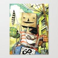 Pseudo-hero Canvas Print