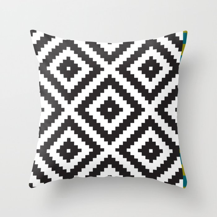 IKEA LAPPLJUNG RUTA Rug Pattern Throw Pillow by Dizzy Moments Society6