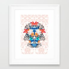 Hawaiian Skull Framed Art Print