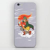 The Detective and the Fox iPhone & iPod Skin