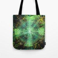 Botanic Mandala II Tote Bag