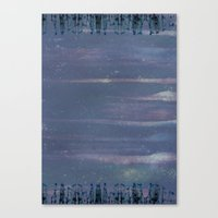 Purple City Canvas Print