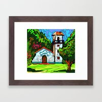 A chapel in Venezuela Framed Art Print