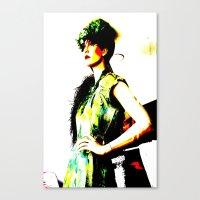 Vintage: Bea Canvas Print