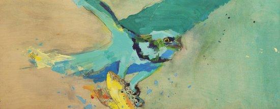 """""""Osprey Tint,"""" 30 x 12,"""" 2013. Art Print"""