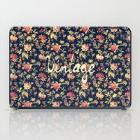 Vintage Elegant Pink And… iPad Case
