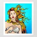 VENUS ARTPOP Art Print