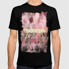 Transcend SMALL Black Mens Fitted Tee