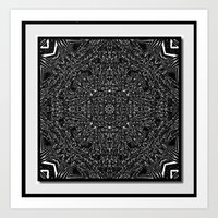 Tiki Print Art Print
