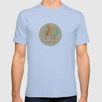 Cloudy Day Mens Fitted Tee Athletic Blue SMALL