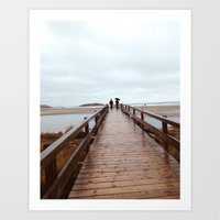 Good Harbor Beach Art Print