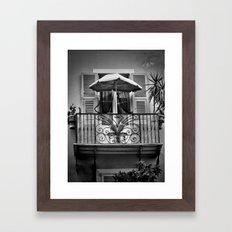 Little Paradise Framed Art Print