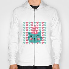 Cat Party hat Hoody