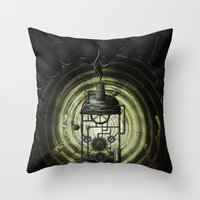 Steam Machine Throw Pillow