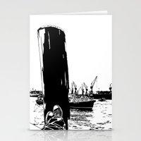 Hamburg Fischmarkt Stationery Cards