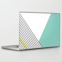 minimal Laptop & iPad Skins featuring MINIMAL COMPLEXITY by .eg.