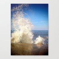 Crashing Wave Canvas Print