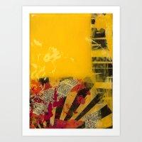 YELLOW5 Art Print