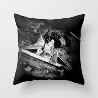 Midnight in Dubrovnik 02 Throw Pillow