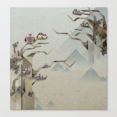 Orgami Owl 2 Canvas Print