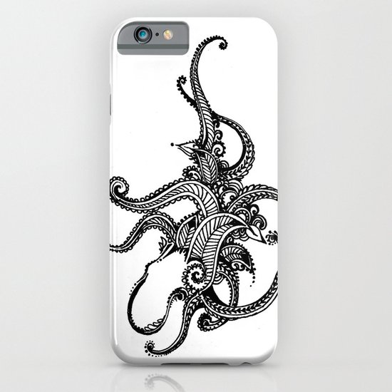 Henna Octopus  iPhone & iPod Case