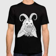 Chinese New Year of the Goatman Mens Fitted Tee Black SMALL