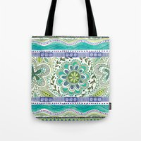Boho Bloom Tote Bag