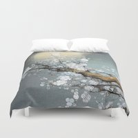 Winter Moon Duvet Cover