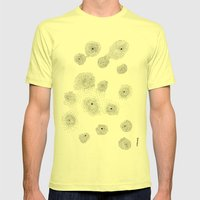 Halo Mens Fitted Tee Lemon SMALL