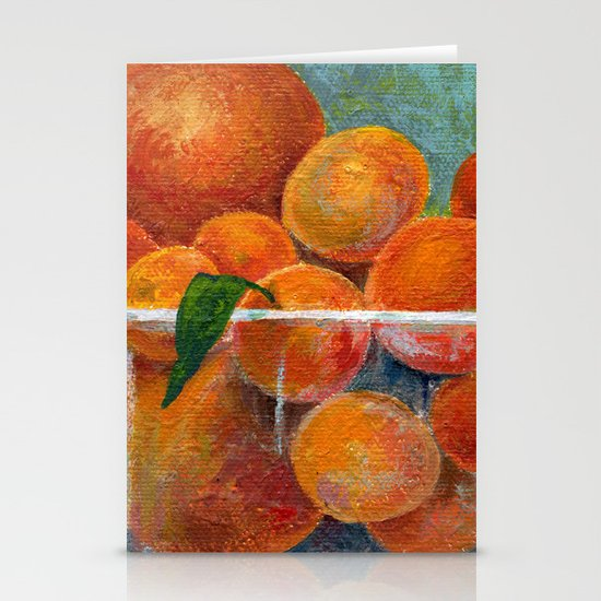 tangerines Stationery Card