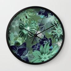 Flora Fauna (Pattern) Wall Clock