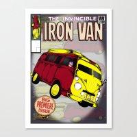 Iron Van Canvas Print