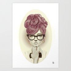 Fu*k U Art Print
