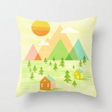 Prosperous Throw Pillow