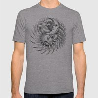 Moon and Sun Mens Fitted Tee Athletic Grey SMALL