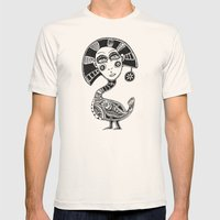 Birdy Mens Fitted Tee Natural SMALL