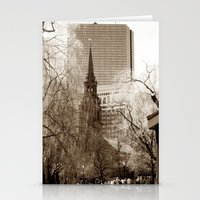 boston Stationery Cards featuring Boston by Raymond Earley