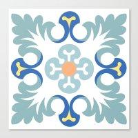 Floor tile 5 Canvas Print