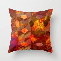 Scorched Earth. Throw Pillow