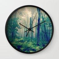 Walk to the Light Wall Clock