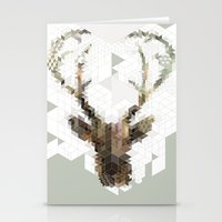 Deer Architect Stationery Cards