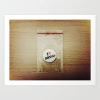 Addiction Or Dependence Art Print
