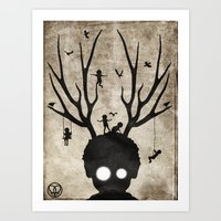 Dear Imaginary Friends Art Print