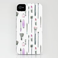 iPhone & iPod Case featuring MAKEUP by Catalina Montaña