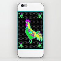 dubstep rooster iPhone & iPod Skin