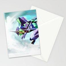 Evangelion Unit 01 - Shinji Ikari's Ride. The Digital Painting. Stationery Cards