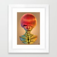 The Gold Bug Framed Art Print